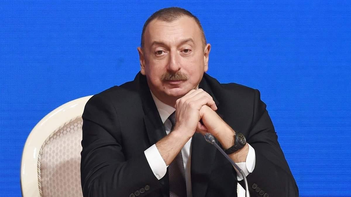 Алиев назвал Армению виновной в нарушении режима тишины в Карабахе