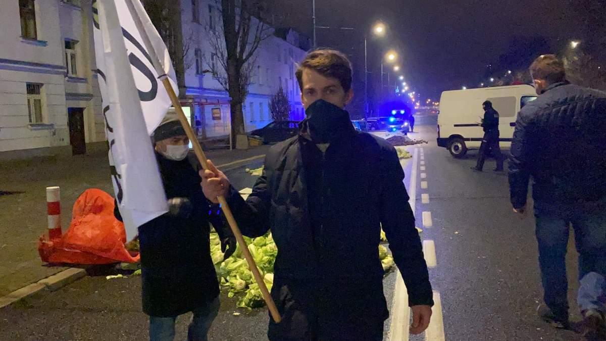 Протест фермерів у Польщі