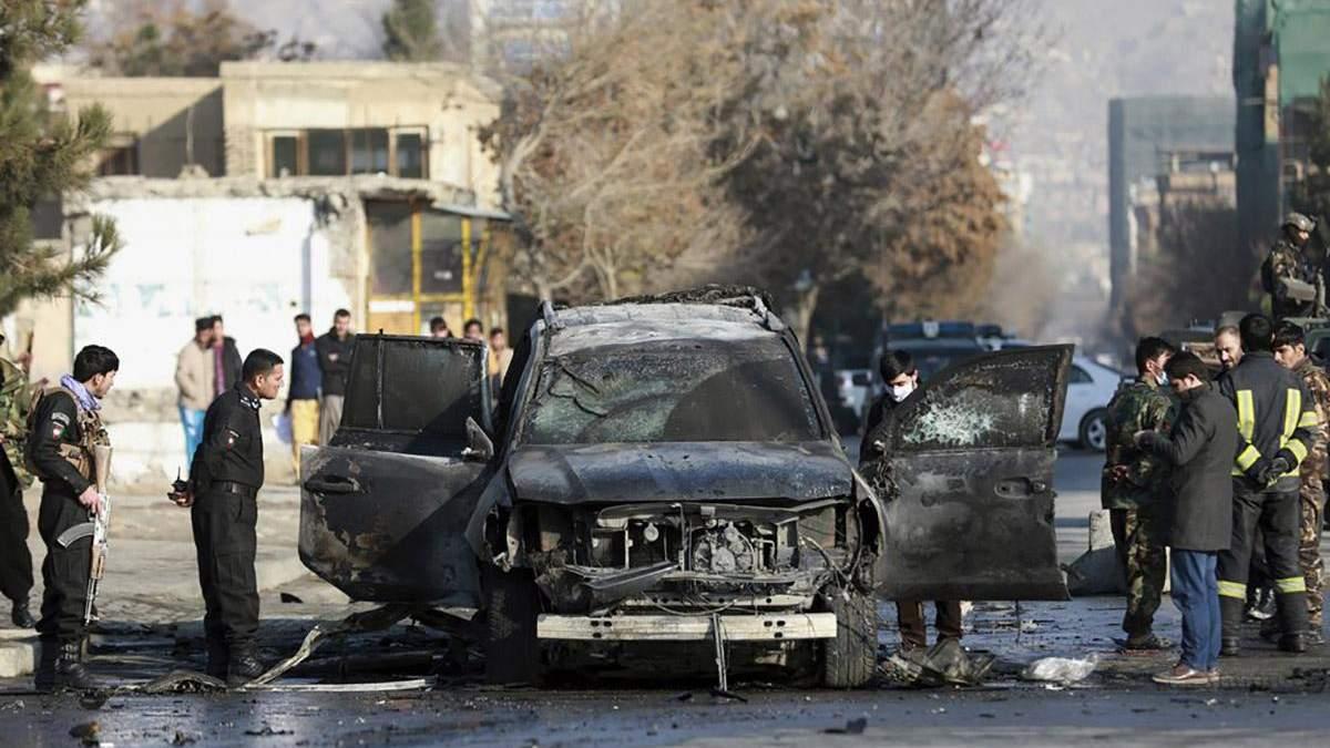 В столице Афганистана взорвалась бомба: есть погибшие, также застрелили прокурора