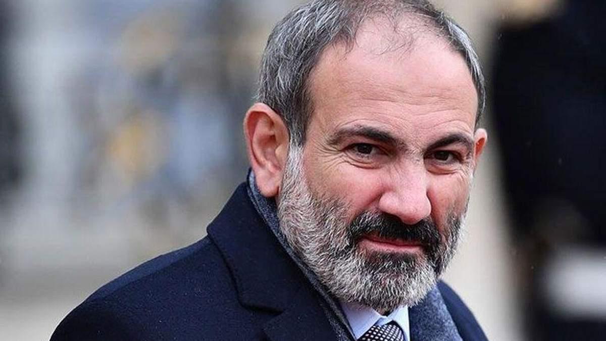 Прем'єр-міністр Вірменії Нікол Пашинян назвав умови для відставки