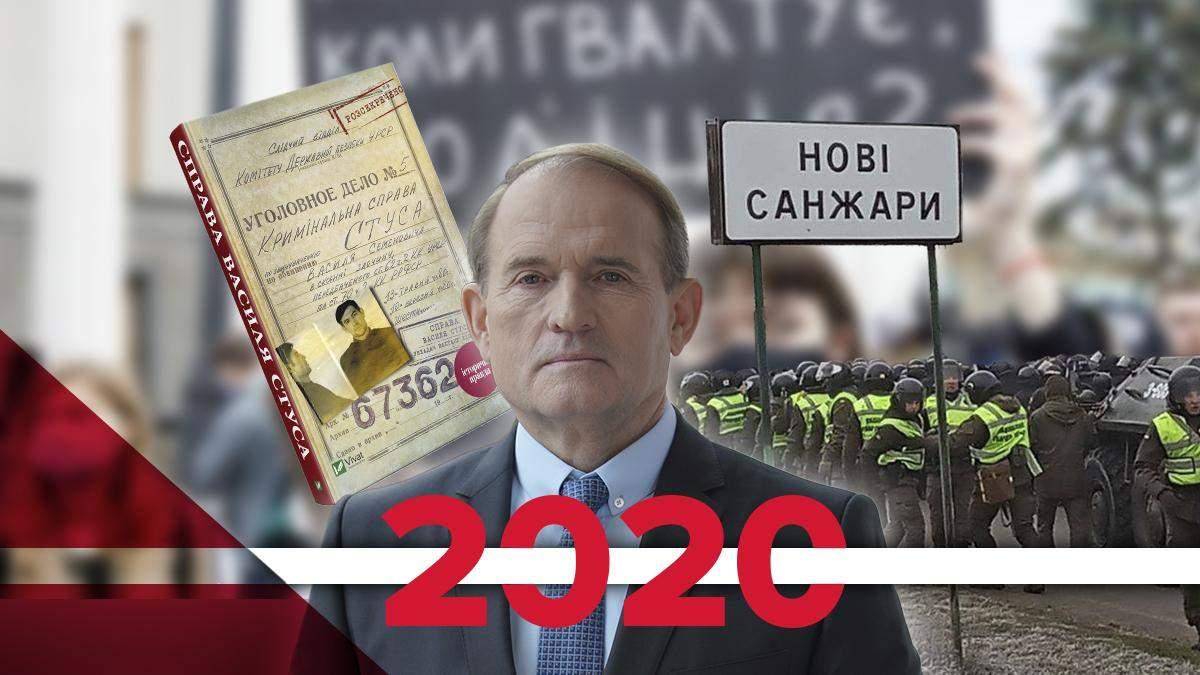 Найгучніші скандали України у 2020 році