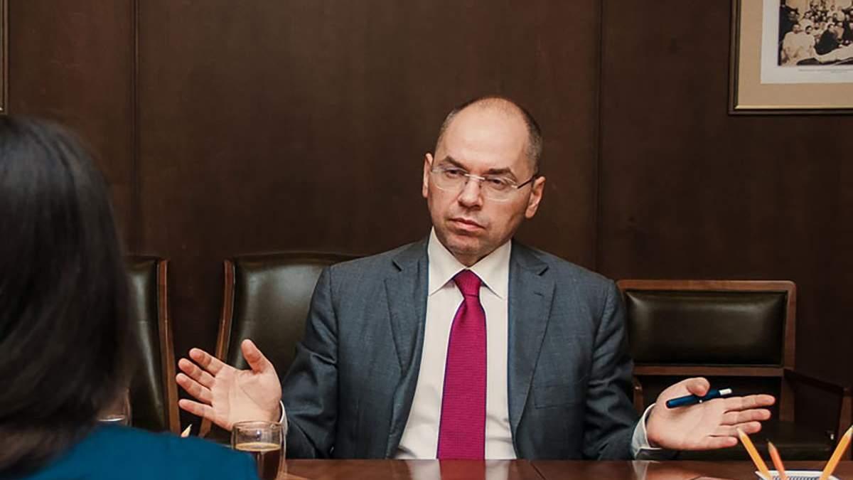 Вакцина в Украине и зарплаты медиков: интервью со Степановым