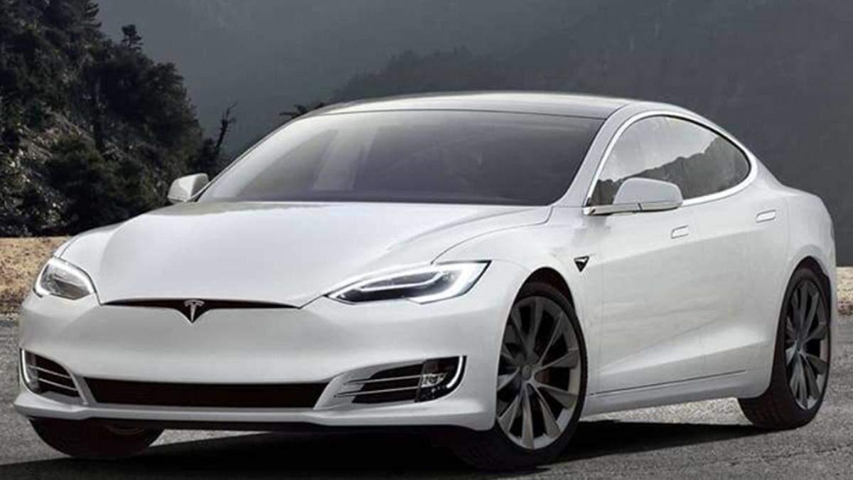Недалеко от Харькова полиция остановила Tesla на автопилоте