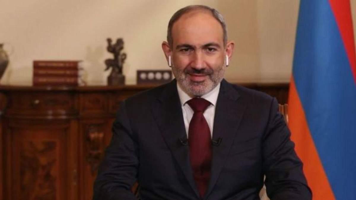 Прем'єр Вірменії Пашинян може оголосити у відставку у новорічну ніч