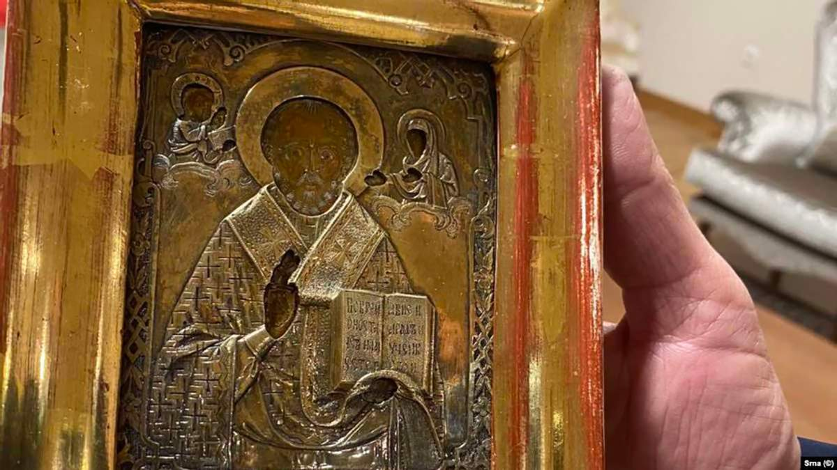 В Сараєві Лаврову подарували українську ікону: Україна направила ноту