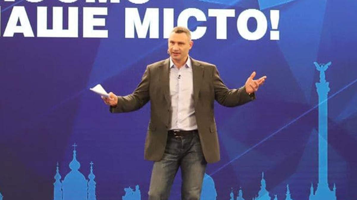 У Києві Віталій Кличко відзвітував за 2020 рік