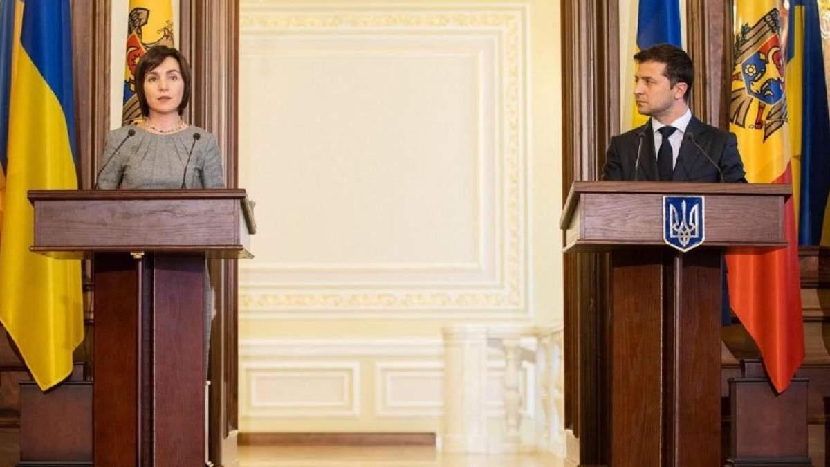 Я симпатизую Молдові з таким лідером, – Зеленський