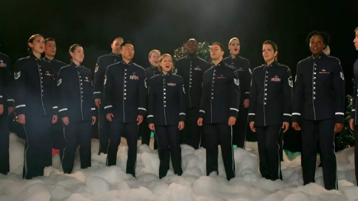 Військовий оркестр США привітав Україну Щедриком: відео