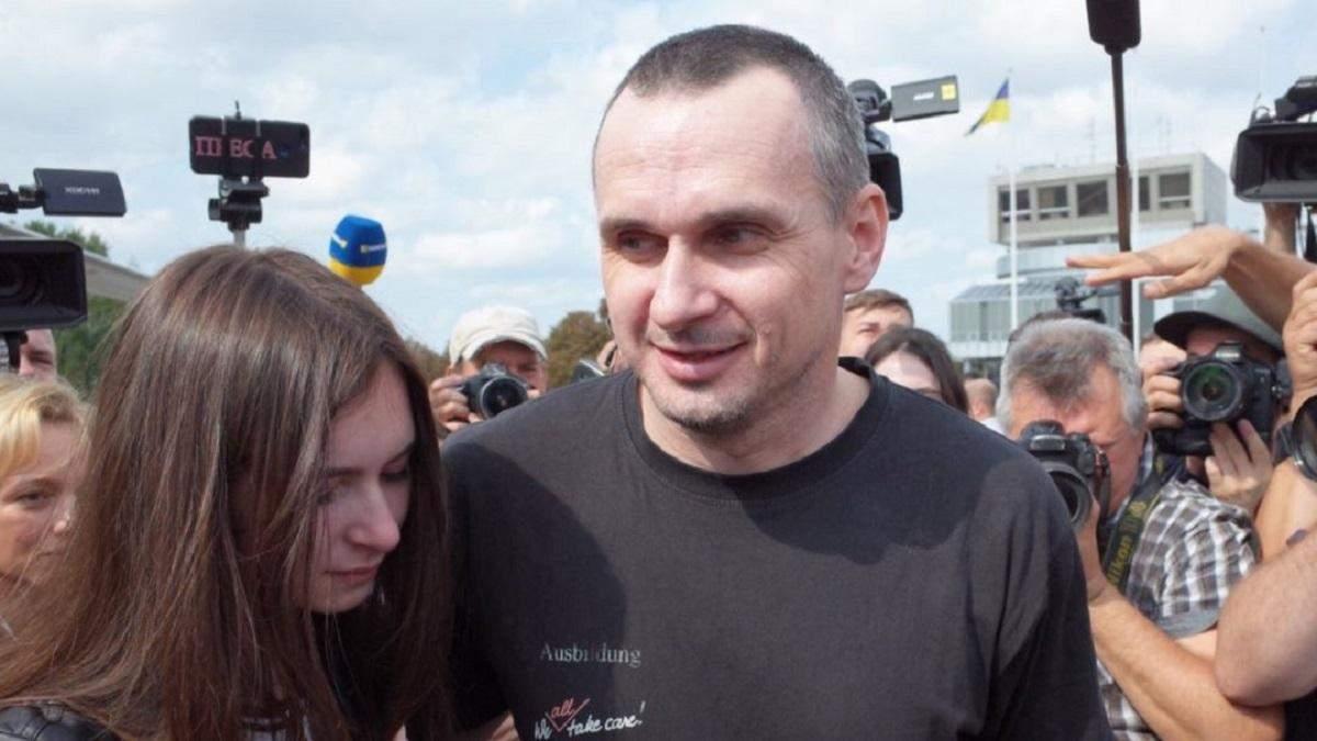 Украина может обменивать воду в Крым на пленных: Олег Сенцов