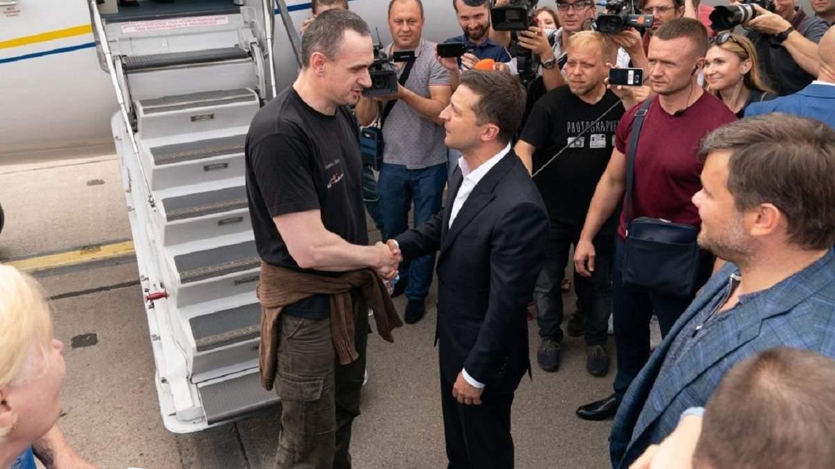 Олег Сенцов: мое освобождение было подарком Путина Зеленскому