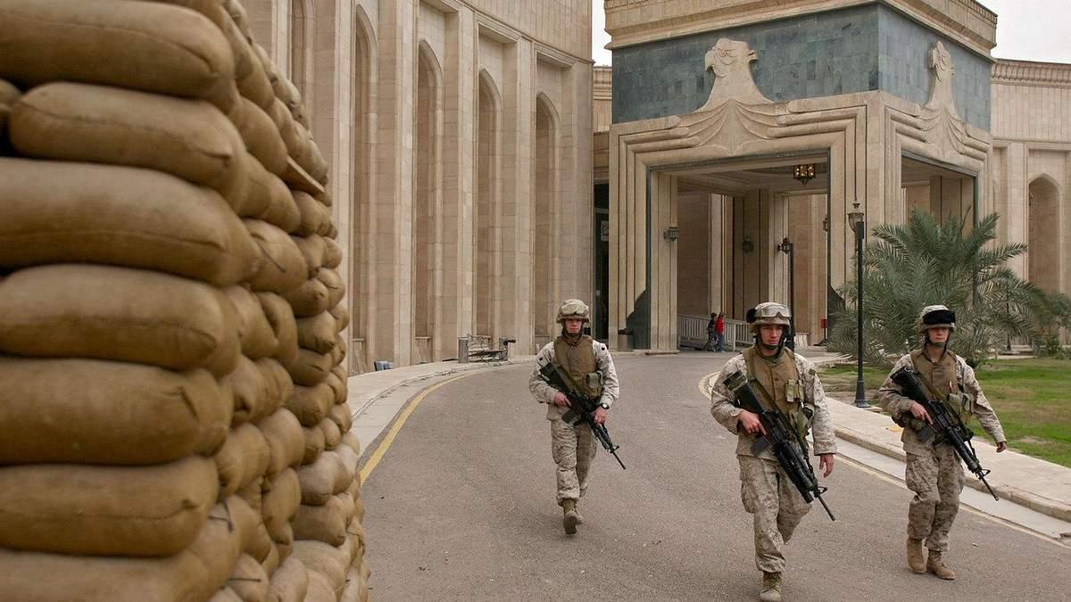 Дипвідомство США обстріляли в Іраку 20.12.2020: відео
