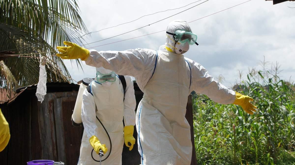 Защита от Эболы в Африке