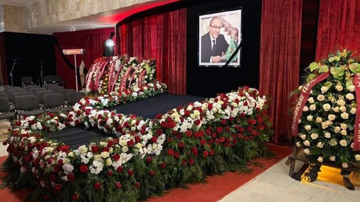 Хто відспівував Геннадія Кернеса - похорон мера Харкова