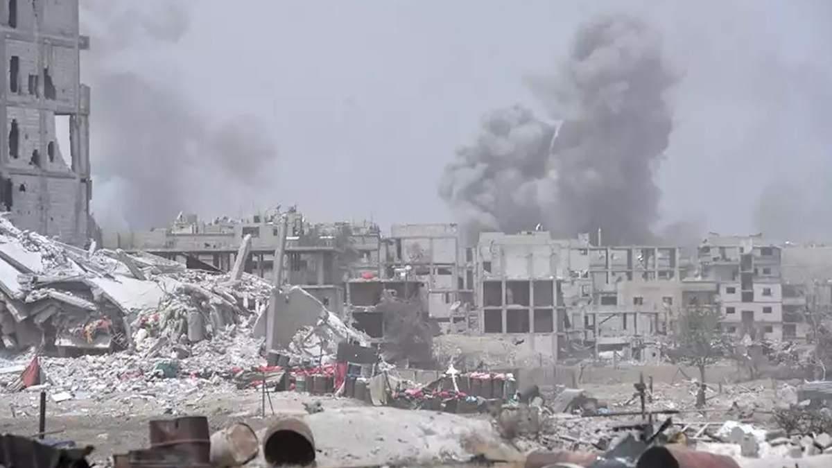 Запад Сирии страдает от авиаударов Израиля, - СМИ