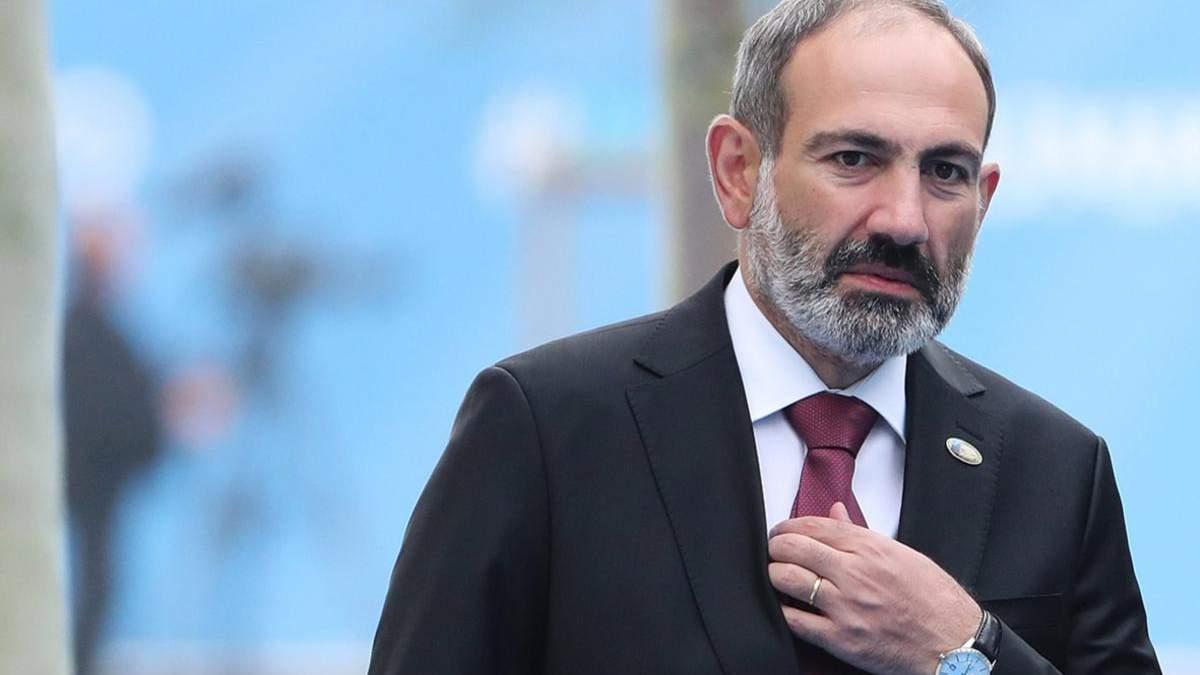 Я можу залишити посаду прем'єр-міністра за рішенням народу, – Пашинян