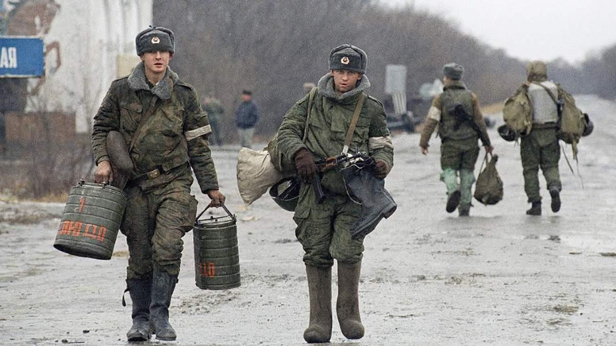 У Росії заборонили 4 архівні відео про війну в Чечні