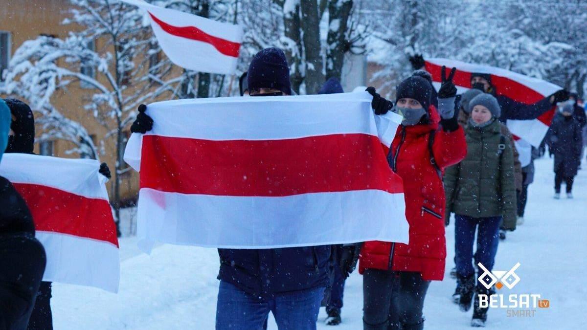 Протести у Білорусі 10 січня 2021: що відбувається у Мінську