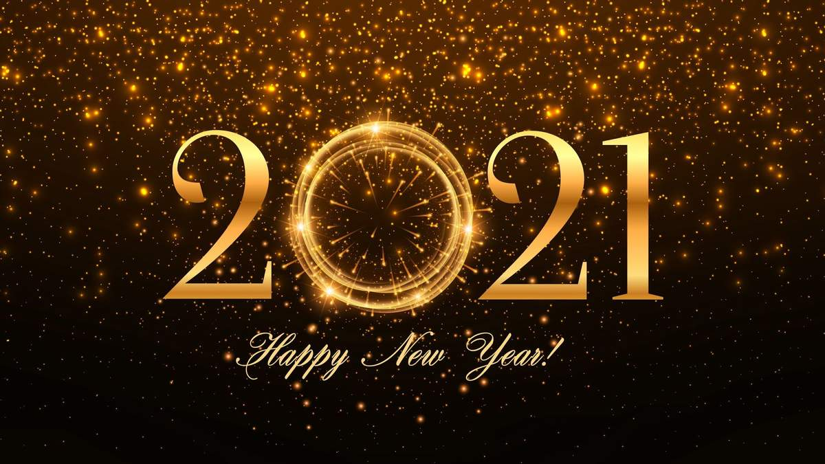 З Новим роком 2021 – привітання колегам з роком Білого Бика