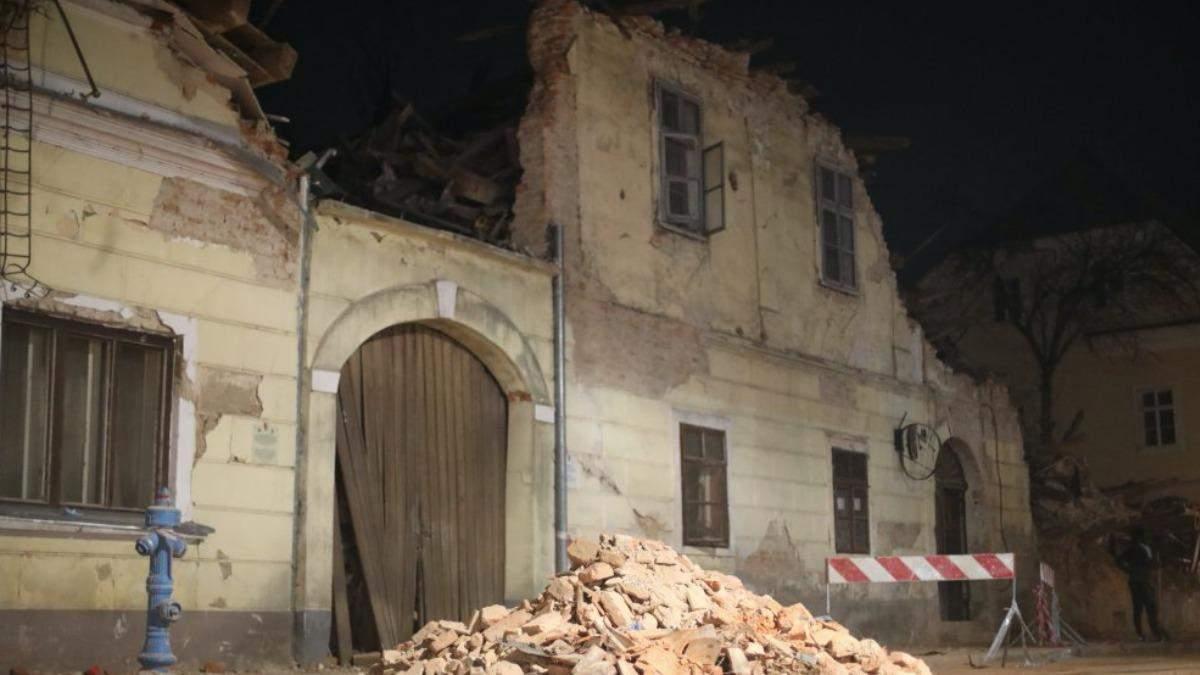 В Хорватии - новые землетрясения: люди ночевали на улицах - фото