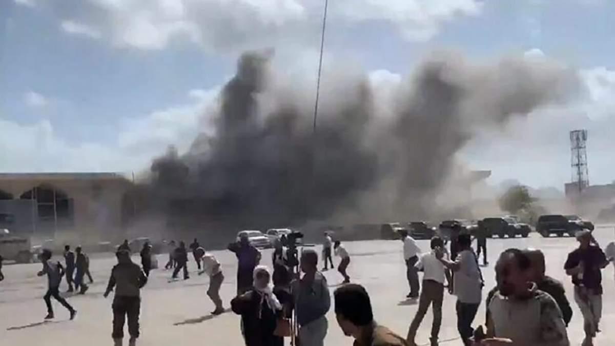 Вибух в Ємені в аеропорту 30 грудня 2020: є жертви – відео