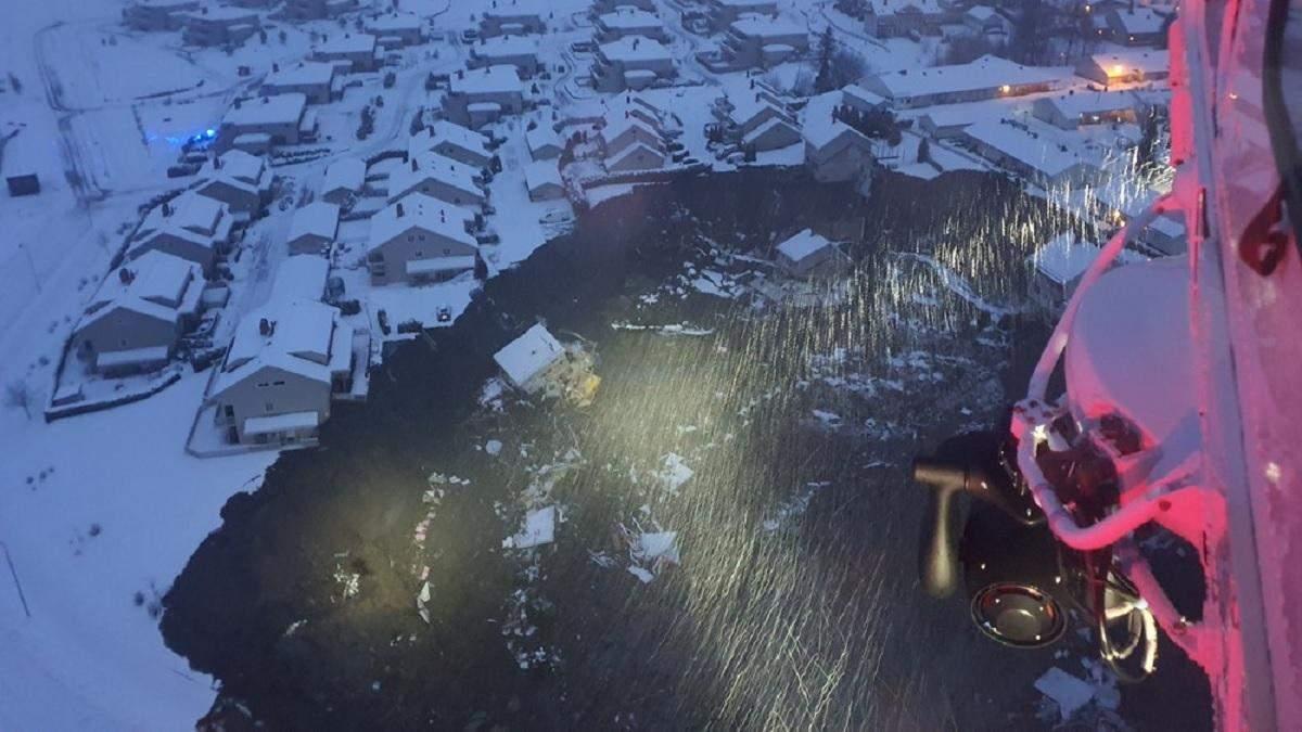 У Норвегії стався зсув ґрунту: 10 людей постраждали, 15 – зникли безвісти