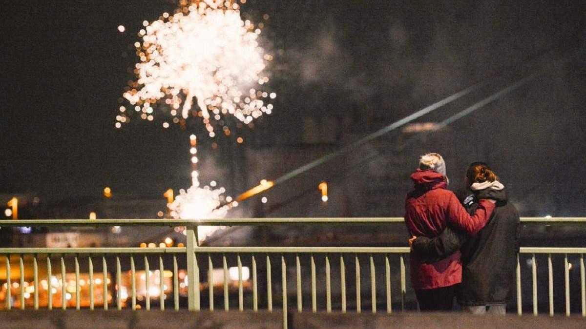 Як світ зустрічав Новий 2021 рік в умовах пандемії: фото