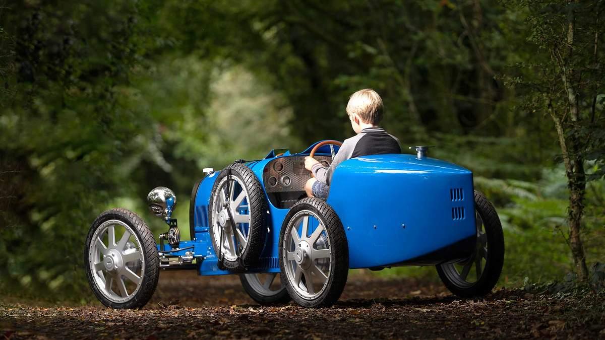 Bugatti випустила дитяче авто Bugatti Baby II: ціна, фото, відео