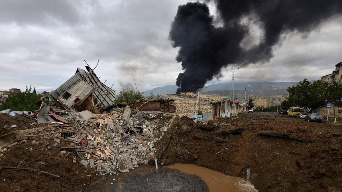 Война за Нагорный Карабах: Армения назвала количество погибших