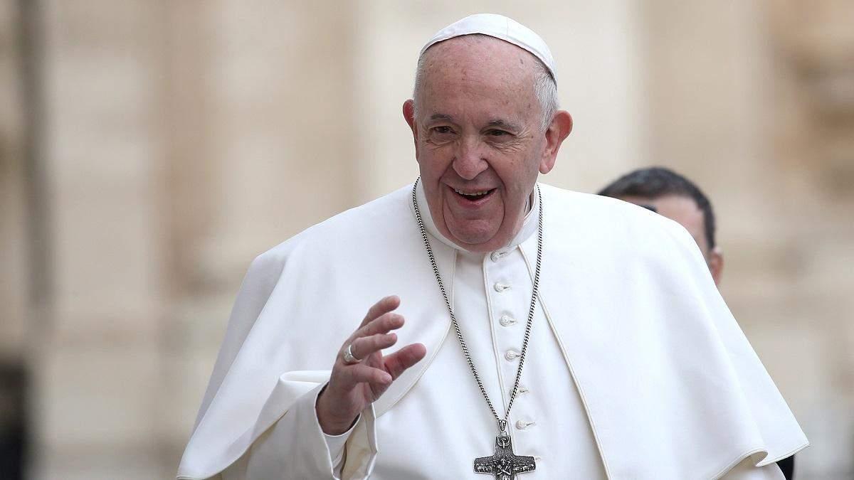 Папа Франциск засудив недотримання карантину на свята