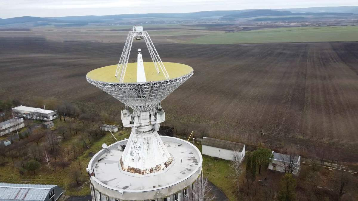 В Золочеве действует один  из самых мощных телескопов: фото и видео