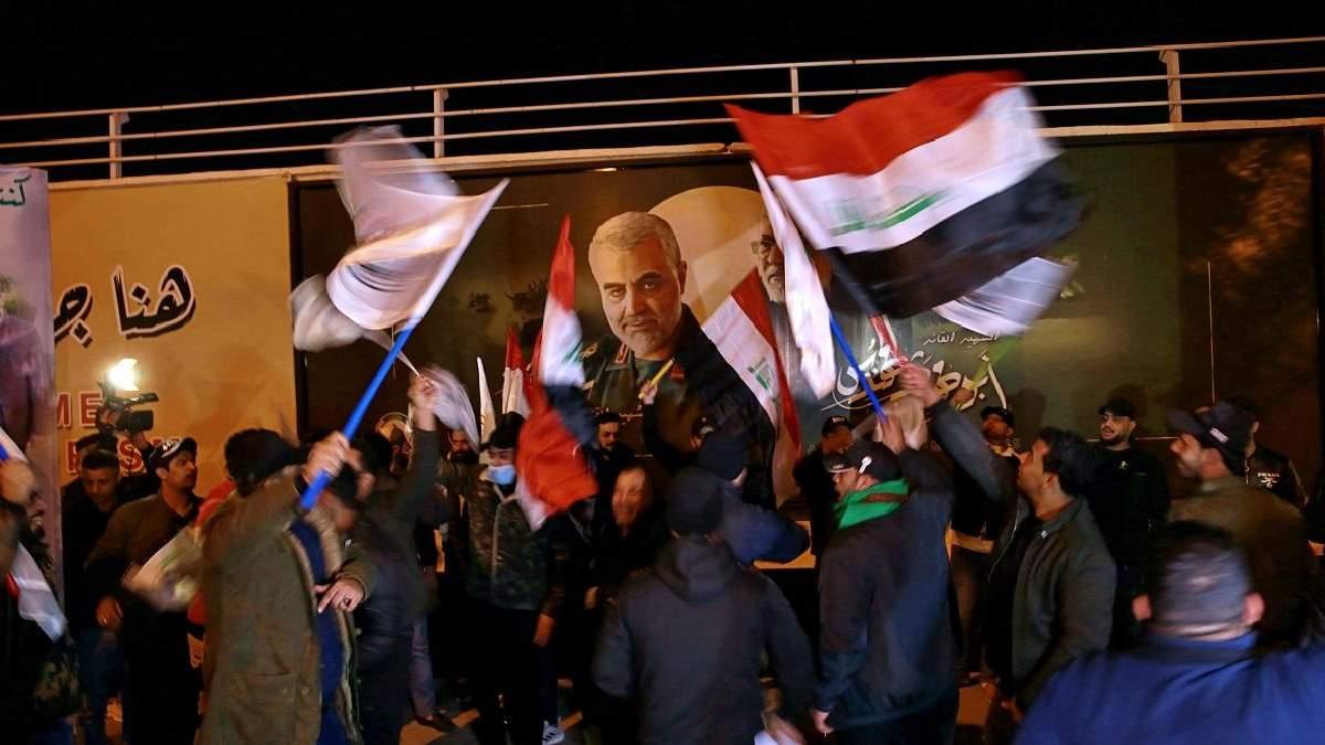 В Багдаде почтили память генерала Сулеймани 03.01.2021 - фото