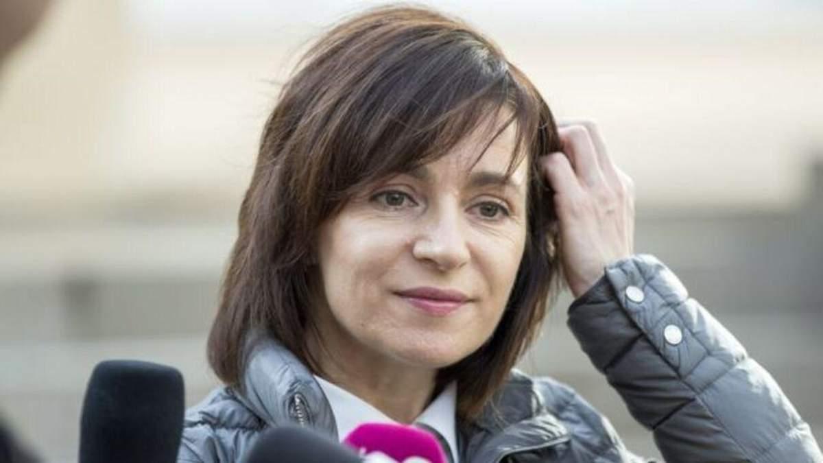 Президентка Молдови Майя Санду 12.01.2021 відвідає Україну: деталі