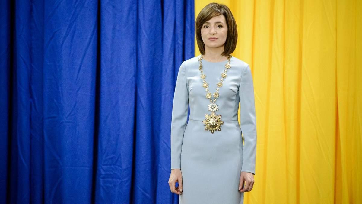Президентка Молдови Майя Санду розповіла, які взаємини хоче мати з Росією
