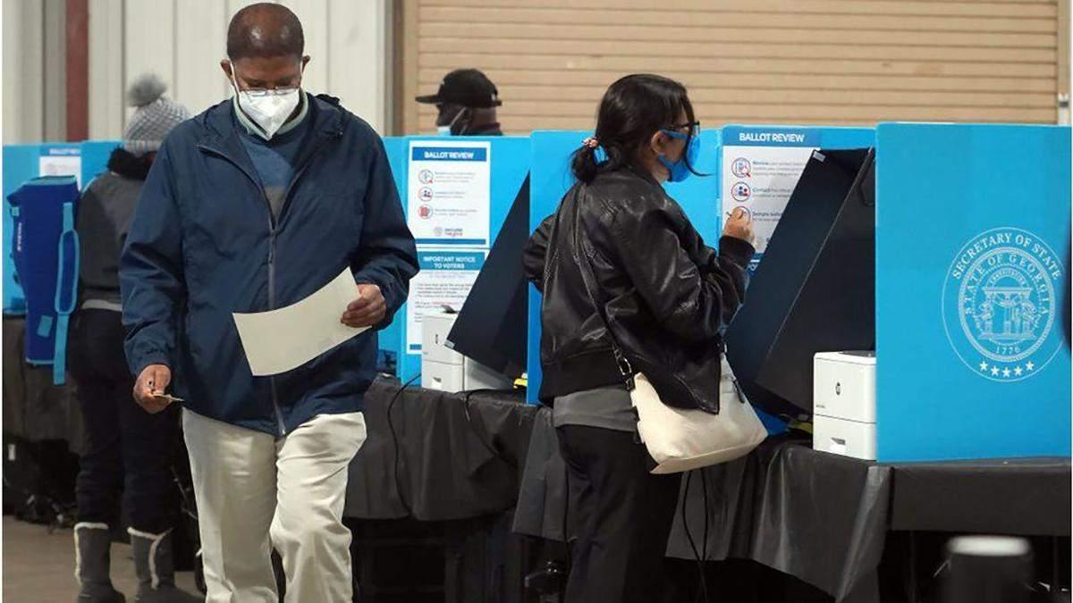 США: в Джорджии проходит второй тур выборов в Сенат 5 января 2021