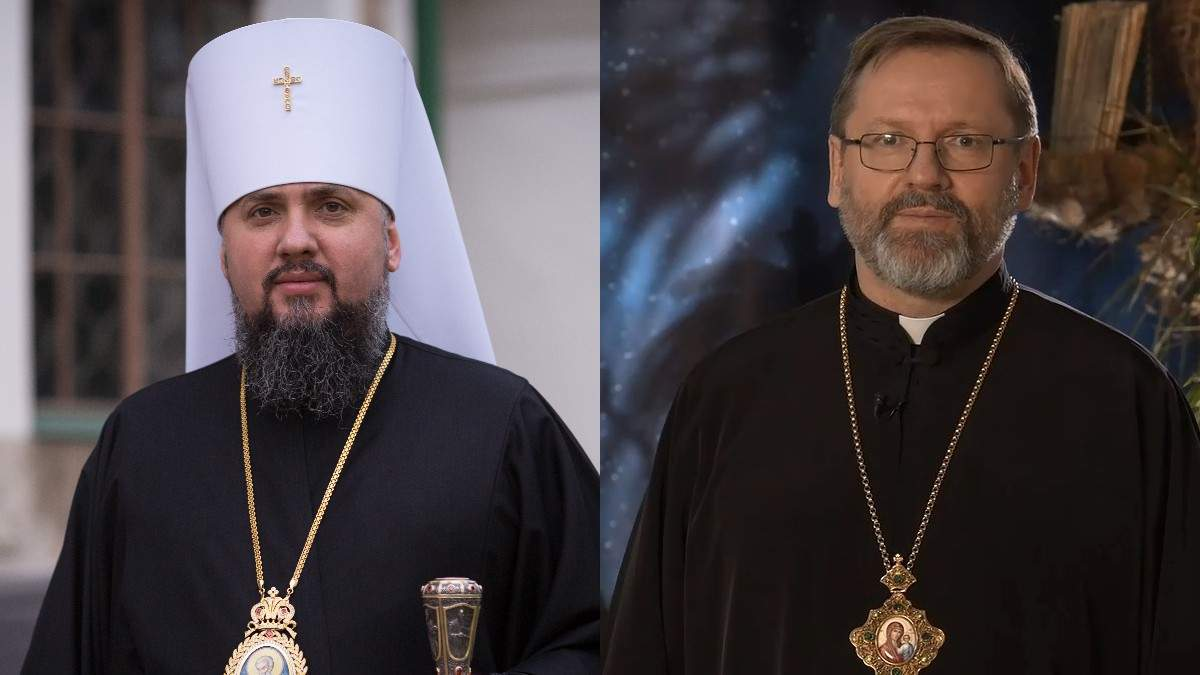 Епіфаній та Блаженніший Святослав привітали з Різдвом: відео