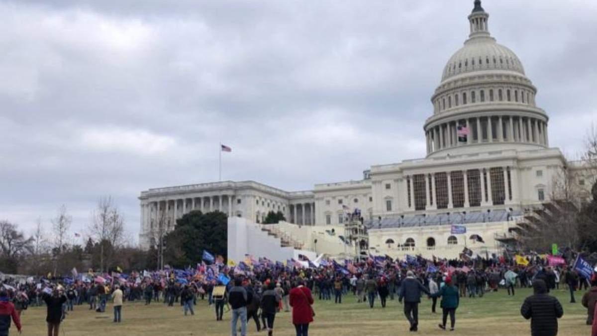З будівель Конгресу в США евакуювали людей через протести