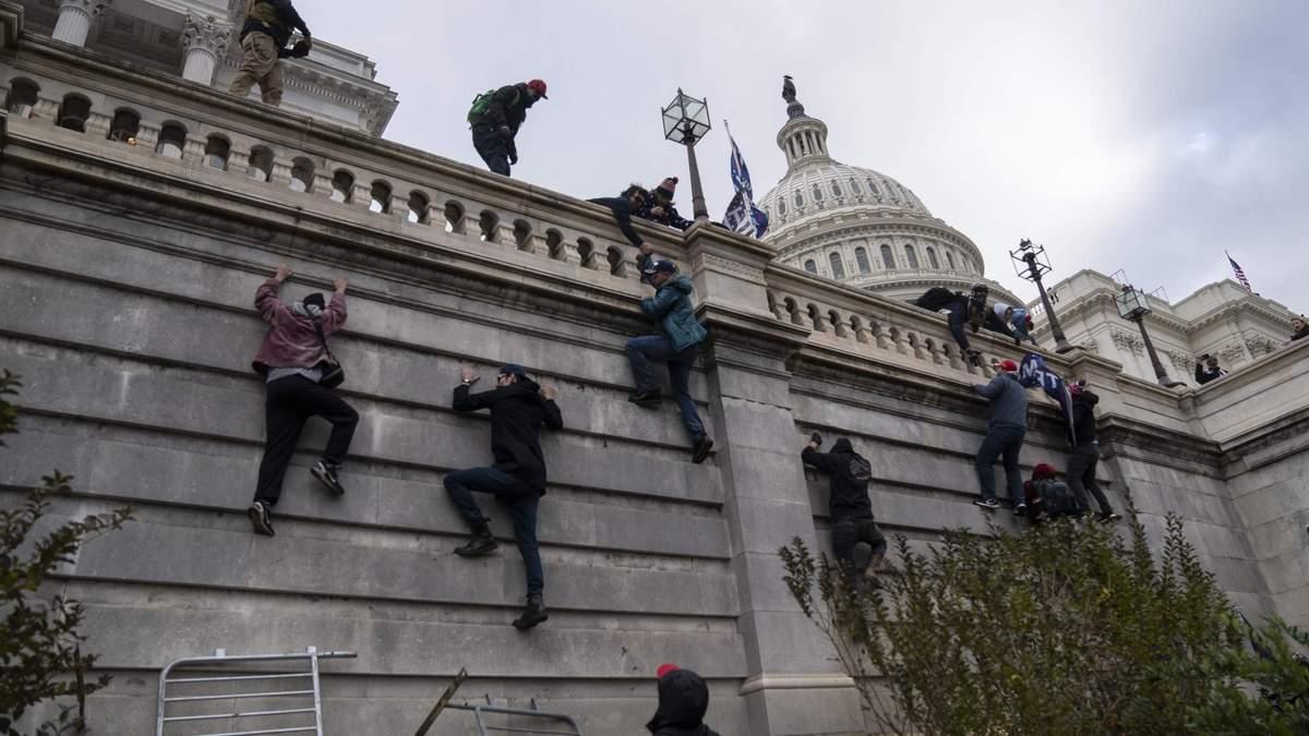 Штурм Конгресса США: было слышно крики на русском языке – видео