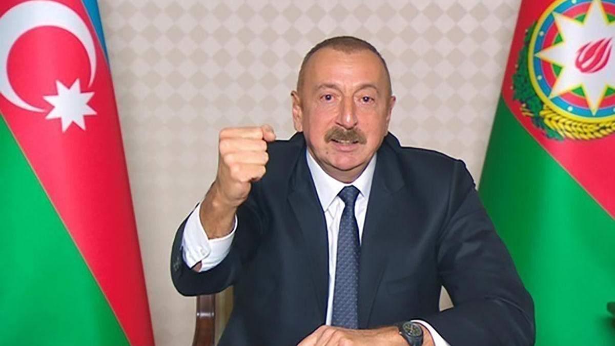 Алиев запретил посещать Карабах без разрешения Баку