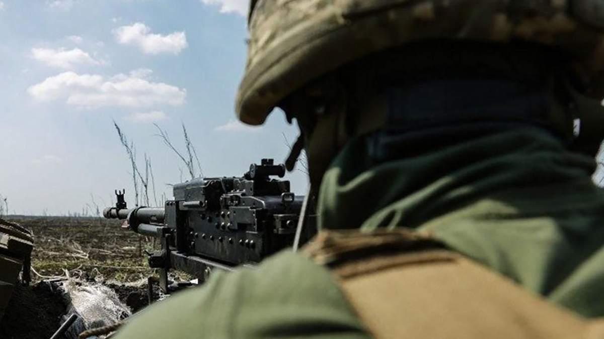 Российские оккупанты обстреляли рабочую бригаду на Донбассе