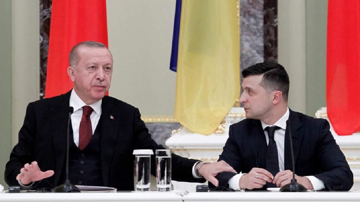 Ердоган привітав повернення українських моряків з полону у Лівії
