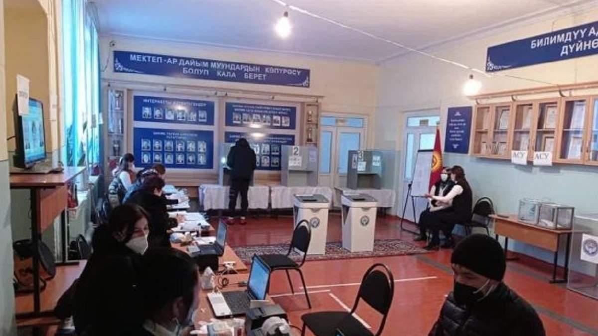 В Кыргызстане проходят выборы президента 10 января 2021
