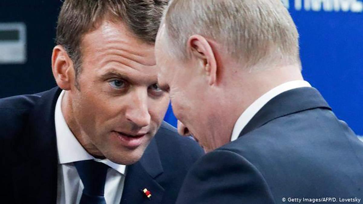 Путін і Макрон обговорили Карабах