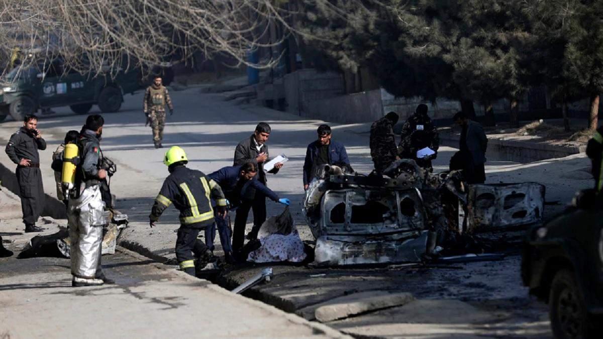 В Афганистане снова теракт: на бомбе подорвались 3 человек