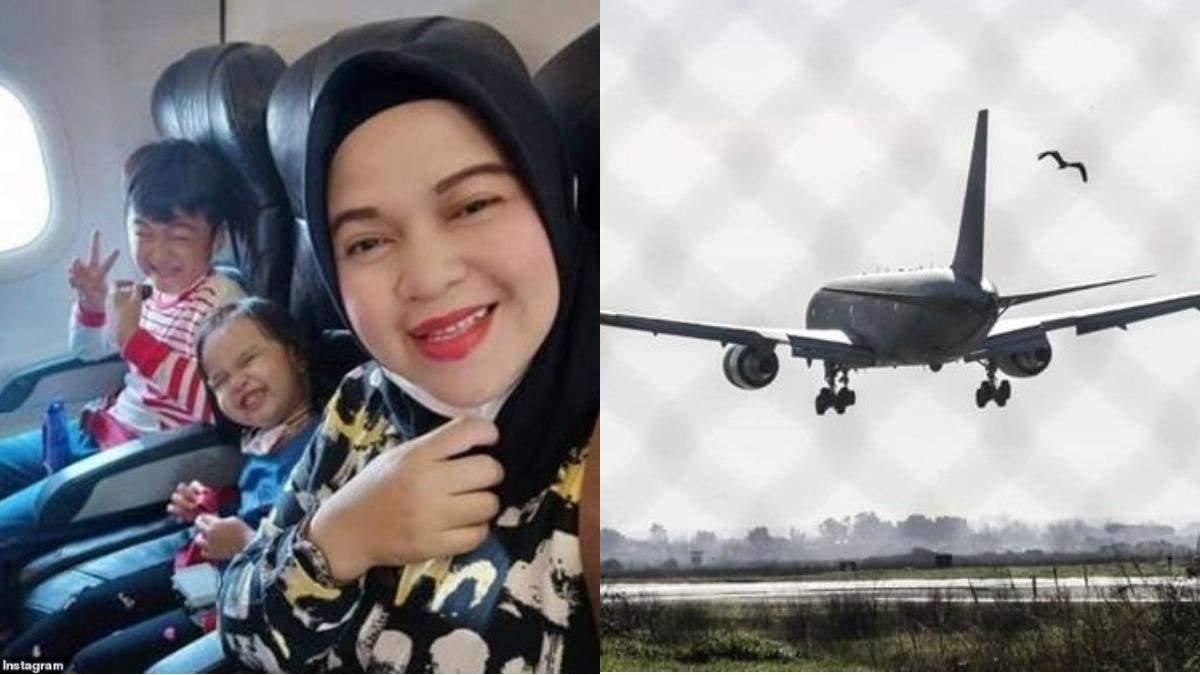 Последнее сообщение матери с детьми, находившихся на борту Boeing