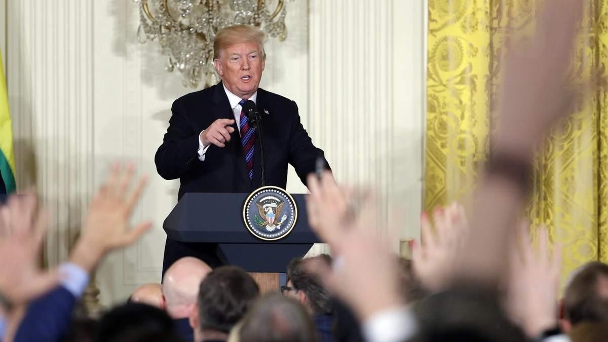Трамп готовится к пресс конференции: о чем будет говорить