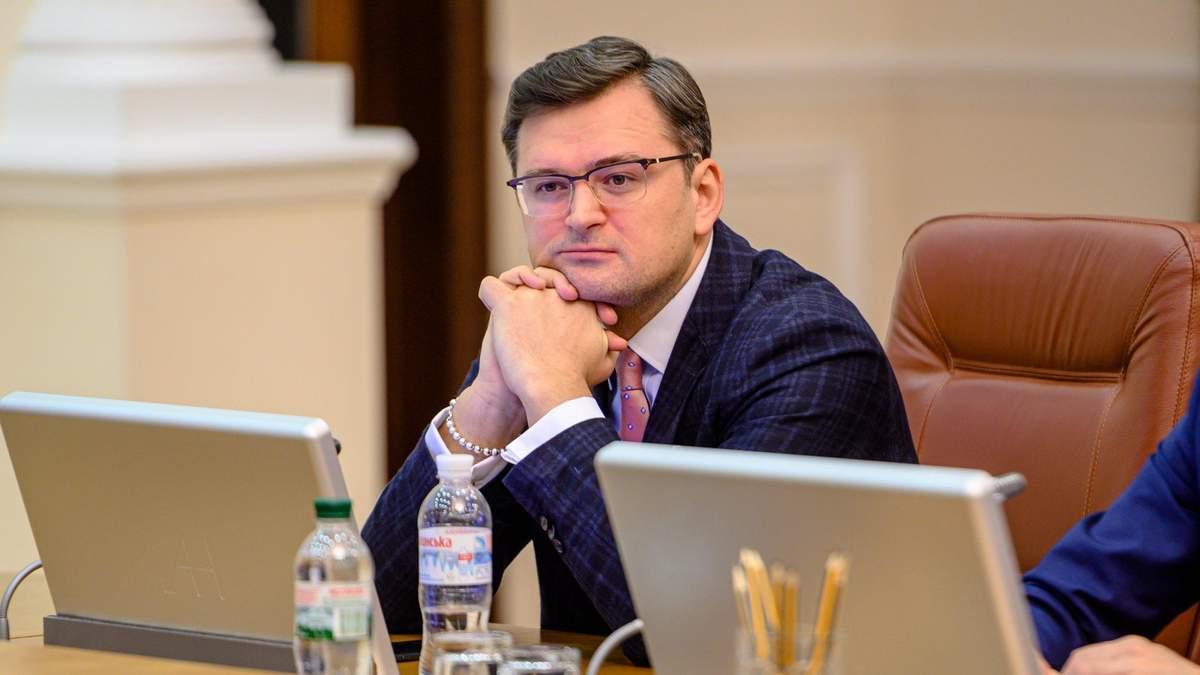 Кулеба прокомментировал реакцию Кремля на Крымскую платформу