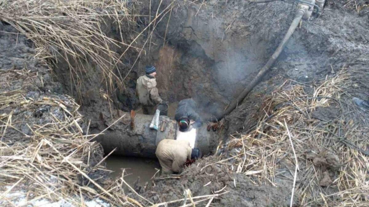 На водогоні Горлівка – Торецьк усунули 2 прориви: коли відремонтують