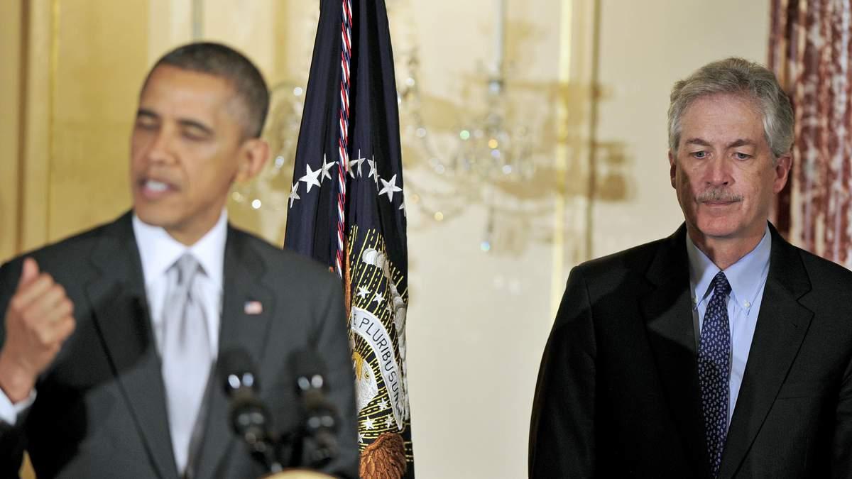 Билл Бернс - карьерный дипломат, работал с 5 президентами США