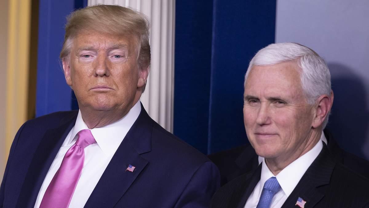 Президент США Дональд Трамп встретился с вице-президентом Майком Пенсом: это была их первая встреча после событий в Капитолии 6 января 2021