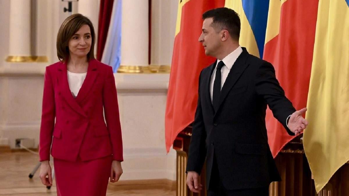 Санду начала свою речь на украинском языке: видео